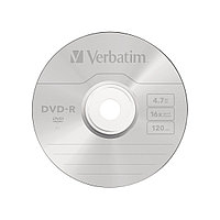 Диск DVD-R  Verbatim  (43522) 4.7GB  16х  25шт в упаковке