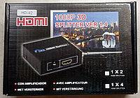 HDMI сплиттер  ver 1.4,    1 вход - 4 выхода., фото 1