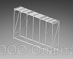 Стойка-экспозитор для ковров на 20 мест (5800х1000х3400 мм) арт. СК6