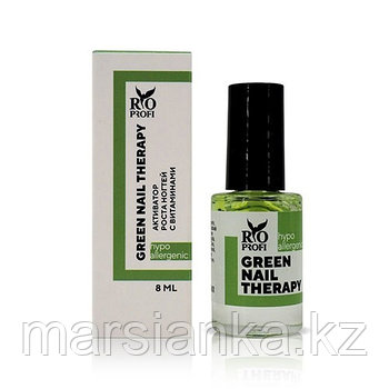 Green nail therapy Активатор роста ногтей с витаминами, 8 мл