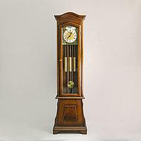 Напольные часы с четвертным боем Часовая мастерская Franz Hermle & Sohne Германия. 1982 год Массив ореха.