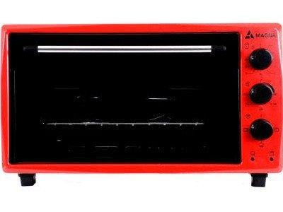 Настольная электропечь Magna MF3615-14RD красный
