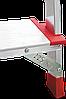 Стремянка алюминиевая NV500 4 широких ступеней профессиональная, фото 6