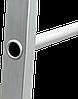 Стремянка алюминиевая NV500 10 широких ступеней профессиональная, фото 5