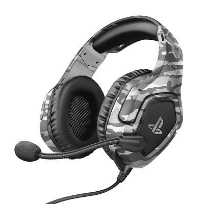 Наушники-гарнитура игровая Trust GXT 488 Forze-G PS4, серый