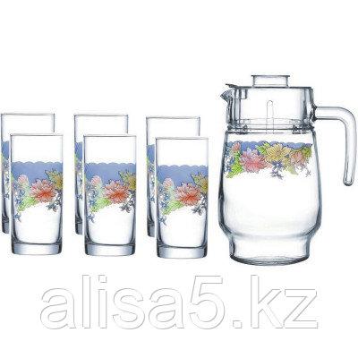 ARCOPAL FLORINE набор для напитков 7 предметов, шт