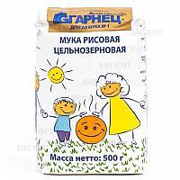 Мука рисовая цельнозерновая без глют 500г (Granec)
