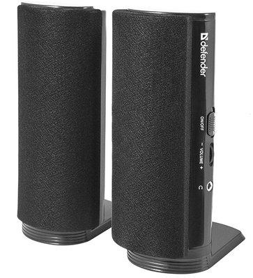 Стационарные звуковые колонки DEFENDER SPK-210 (65210) черный