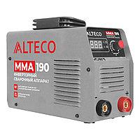 Сварочный аппарат ALTECO MMA 190