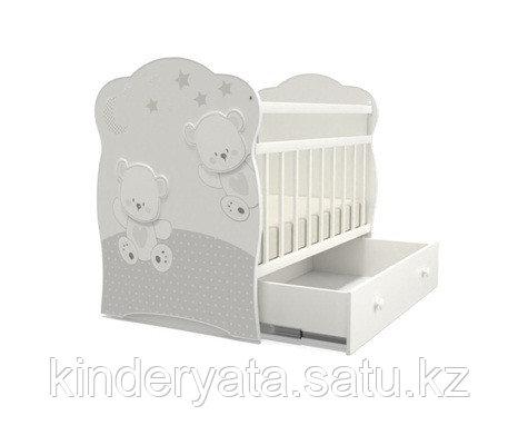 Детская кроватка ВДК Unica Dado с маятником, с ящиком