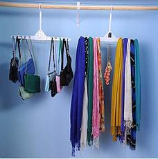 Складная двойная вешалка для одежды Ликвидация склада!, фото 2