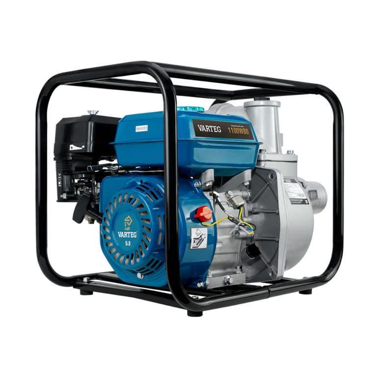 Мотопомпа бензиновая VARTEG 1100W80