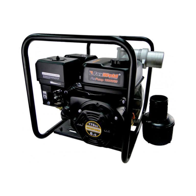 FoxWeld Мотопомпа бензиновая FoxPump G1000-80W (пр-во FoxWeld/КНР)