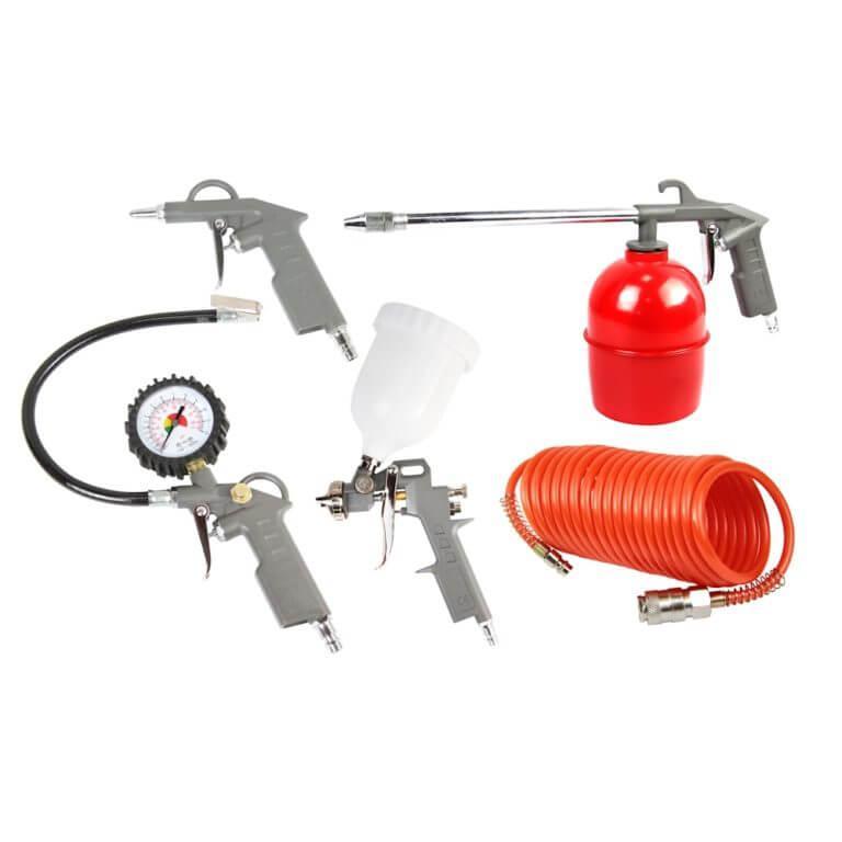 AERO Набор пневмоинструментов 5 предметов
