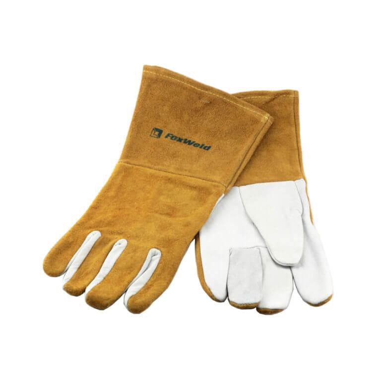 "Перчатки кожаные мягкие ""Элит"" (артикул 10-1007L, пр-во FoxWeld/КНР)"