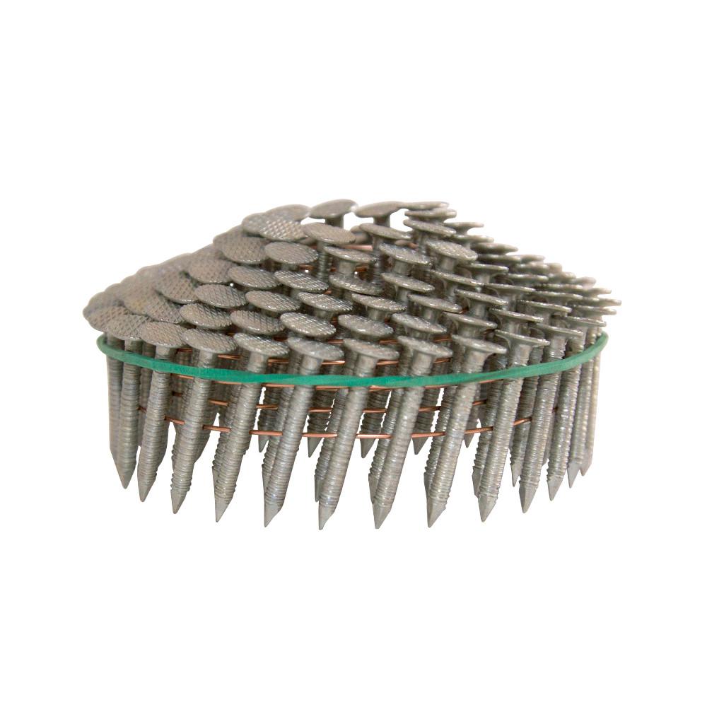 Гвоздь кровельный барабанный c кольцевой накаткой AERO 3,1х25мм [лента 120 шт] (C45)