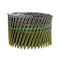 Гвоздь барабанный c винтовой накаткой AERO 2,5х70мм [лента 300 шт] (C90)