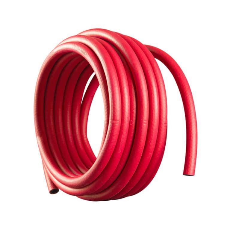Рукав д.6.3мм красный (бухта 40 метров, пр-во FoxWeld/КНР)
