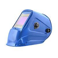 """Маска сварщика GEFEST """"синяя"""" (ф-р 9500V, пр-во FoxWeld) без коробки, фото 1"""