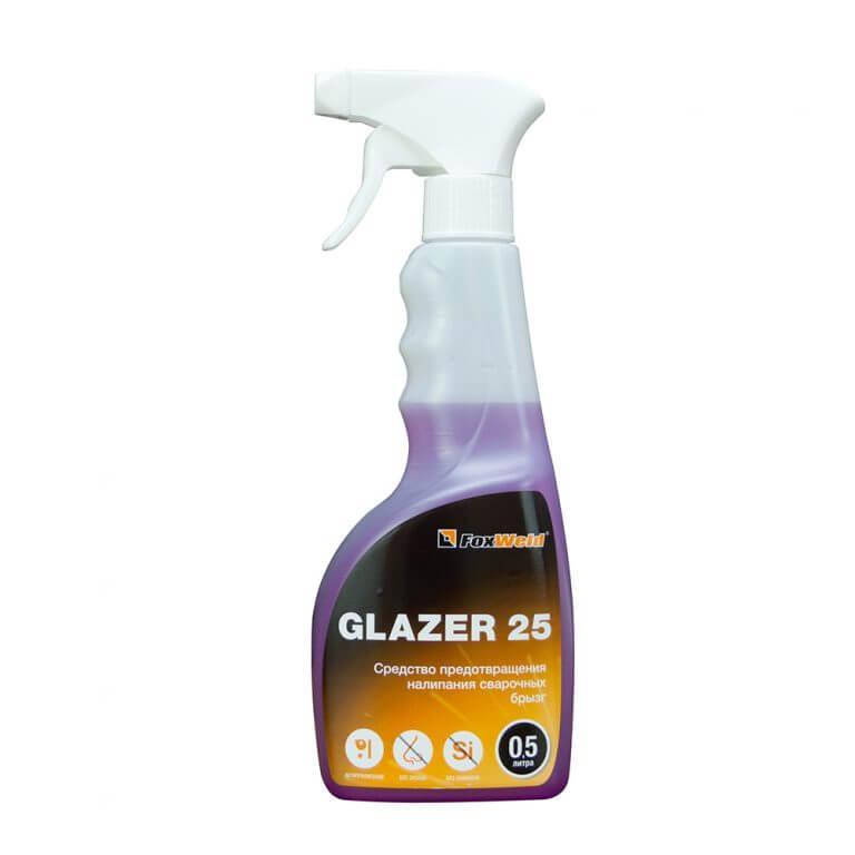 Средство предотвращения налипания сварочных брызг GLAZER 25 (500мл)