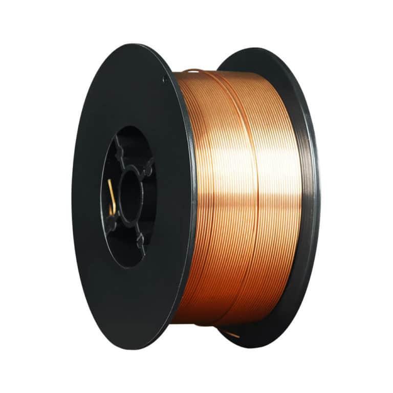 Проволока сварочная омедненная  ER 70S-6 Foxweld (Св08Г2С) д.0.8мм, 1кг D100 (пр-во FoxWeld/КНР)