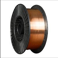 Проволока сварочная омедненная Св.08Г2С (ан.ER70S-6) Foxweld д. 1,2мм, D300, 15кг (Россия)