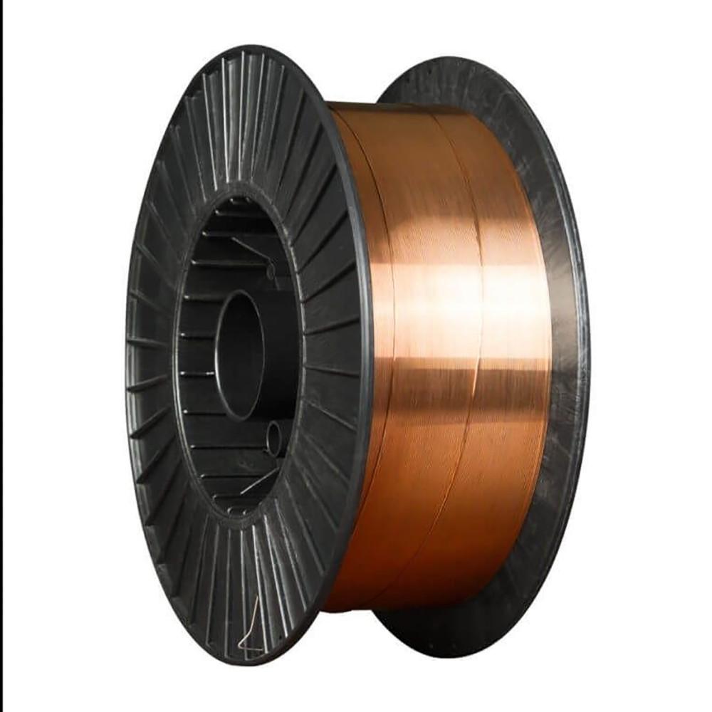 Проволока сварочная омедненная Св.08Г2С (ан. ER70S-6) Foxweld д. 1,0мм, D300, 15 кг (Россия)