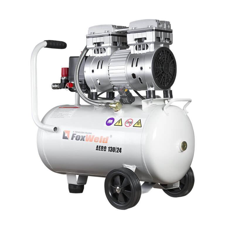 Безмасляный коаксиальный компрессор AERO 130/24 oil-free (пр-во FoxWeld/КНР)
