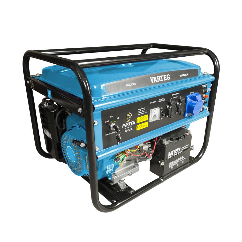 Бензиновый генератор Varteg G7500E