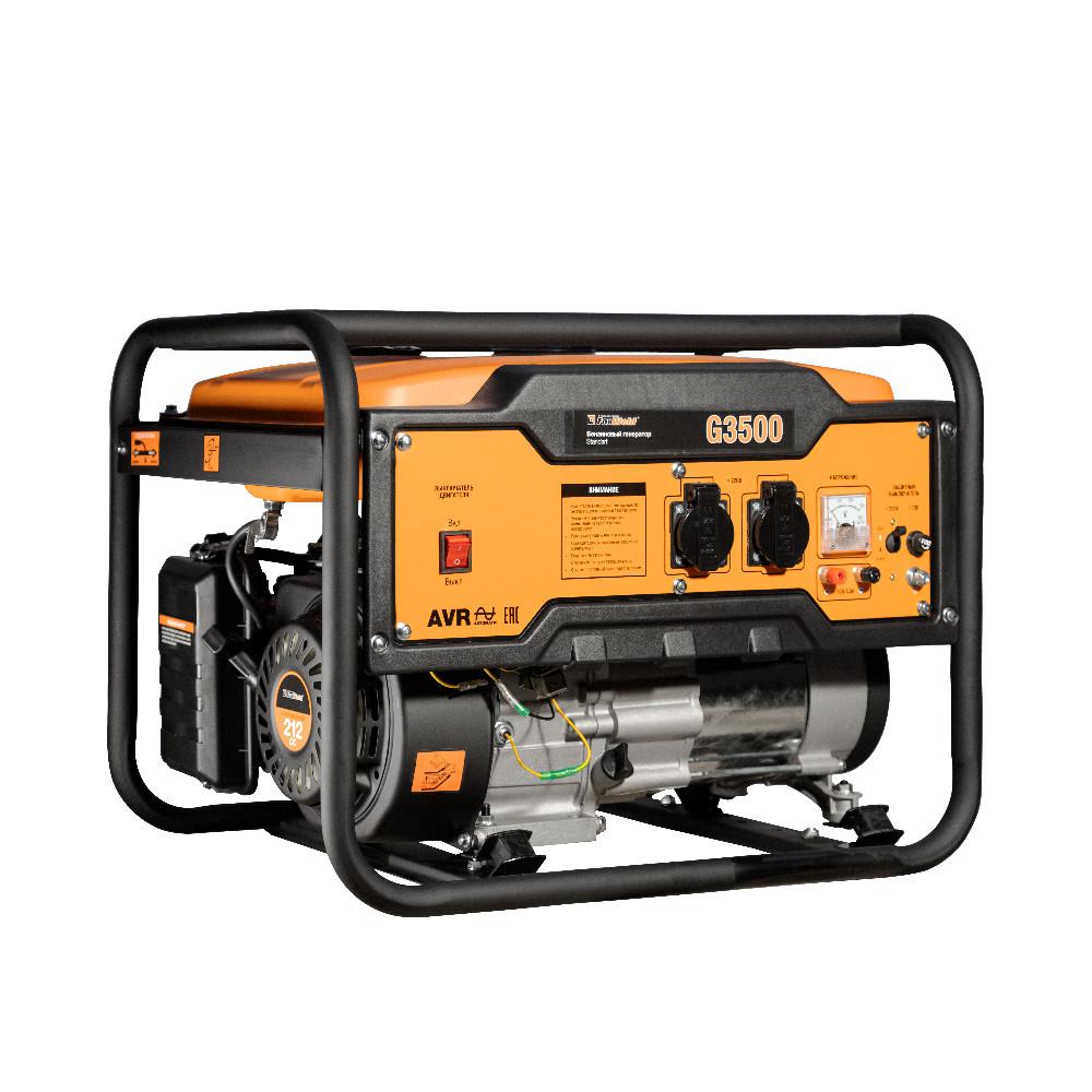 Бензиновый генератор FoxWeld Standart G3500