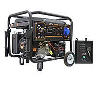 Бензиновый генератор FoxWeld Expert G9500 EW в компл. с блоком автоматики, фото 1