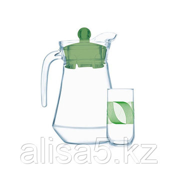 GREEN RINGS набор для напитков 7 предметов, шт
