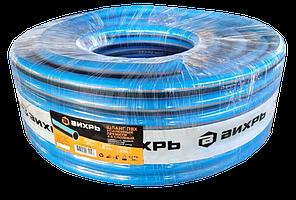 Шланг поливочный ПВХ усиленный премиум, пищевой четырехслойный армированный 3/4, 25м Вихрь