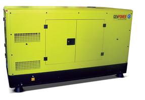 Дизельный генератор GENPOWER GNT25 (20 кВт) (АВР) в кожухе
