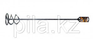 Насадка-миксер оцинкованная 600х100 мм для красок и штукатурных смесей Вихрь