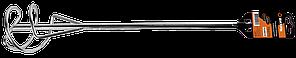 Насадка - миксер оцинкованная 400х80 мм SDS+ Вихрь