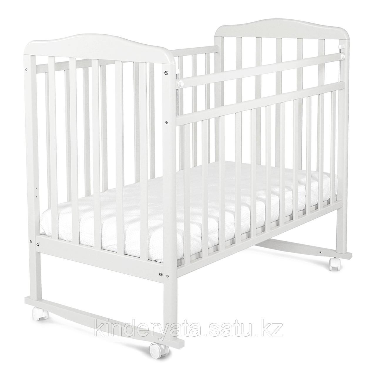 Кровать детская СКВ Митенька белый