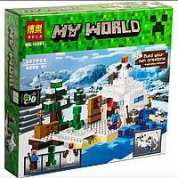 Конструктор Bela 10391 Снежное укрытие, аналог Lego 21120