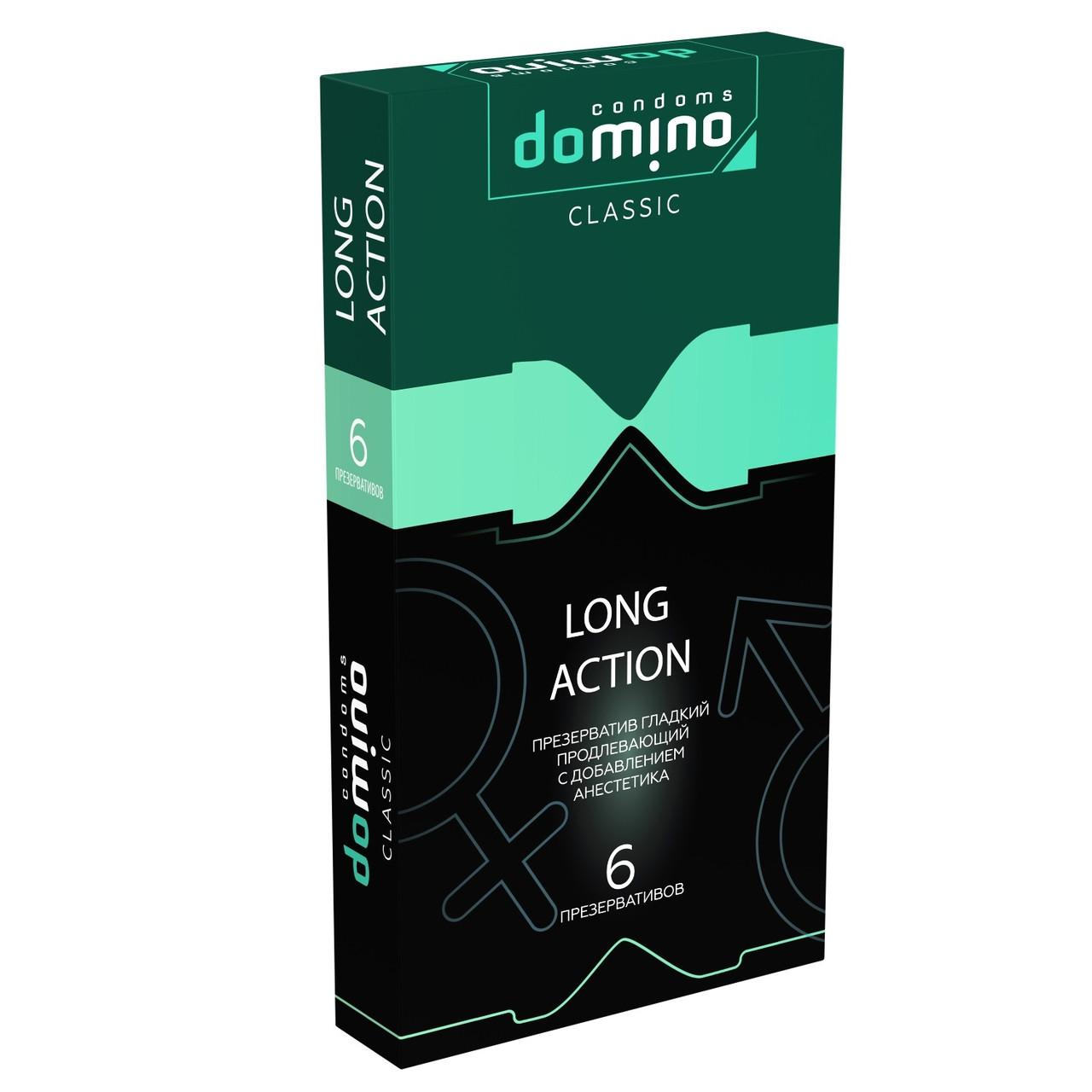 "Презервативы ""DOMINO HARMONY - LONG ACTION (пролонгирующие)"", 6 штук"