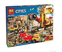 Конструктор BELA Cities Шахта 10876 (Аналог LEGO City 60188) 989 дет
