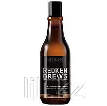 Шампунь для интенсивного очищения Redken Brews Extra Clean Shampoo 300 мл.