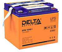 Аккумулятор Delta DTM 1240 I (12В, 40Ач), фото 1