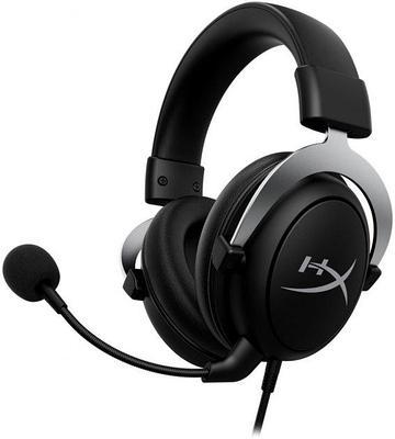 Наушники-гарнитура игровые HyperX HHSC2-CG-SL/G CloudX, черный