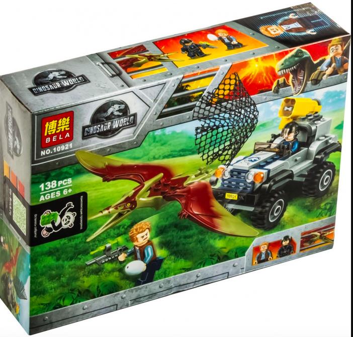 "Конструктор BELA 10921 Dinosaur World "" Погоня за Птеранодоном"" - фото 1"