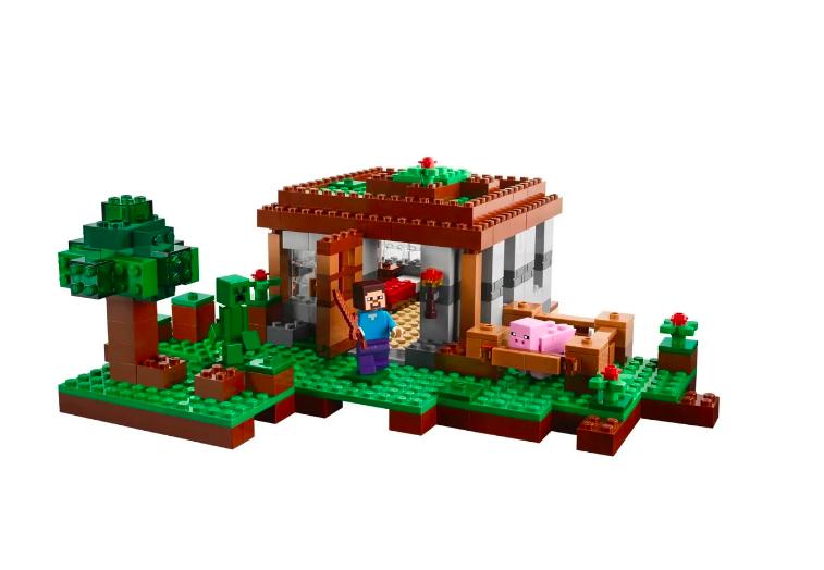 Конструктор Lari Майнкрафт (Minecraft) Первая ночь 10176 408 деталей - фото 3