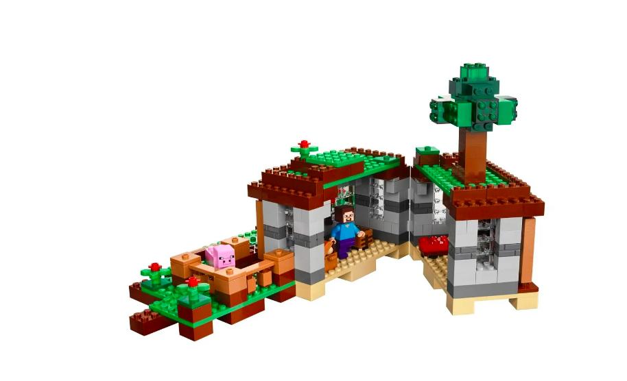 Конструктор Lari Майнкрафт (Minecraft) Первая ночь 10176 408 деталей - фото 4