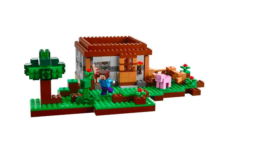 Конструктор Lari Майнкрафт (Minecraft) Первая ночь 10176 408 деталей - фото 6