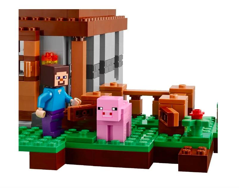 Конструктор Lari Майнкрафт (Minecraft) Первая ночь 10176 408 деталей - фото 7