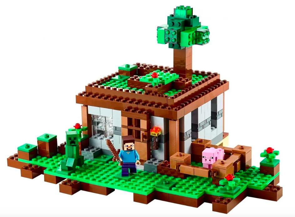 Конструктор Lari Майнкрафт (Minecraft) Первая ночь 10176 408 деталей - фото 2