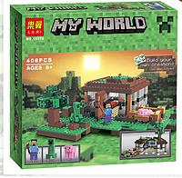 Конструктор Lari Майнкрафт (Minecraft) Первая ночь 10176 408 деталей